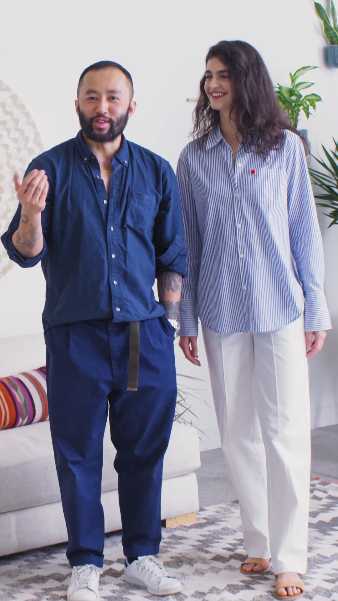 Stretch Cotton Twill Trousers, sales video thumbnail