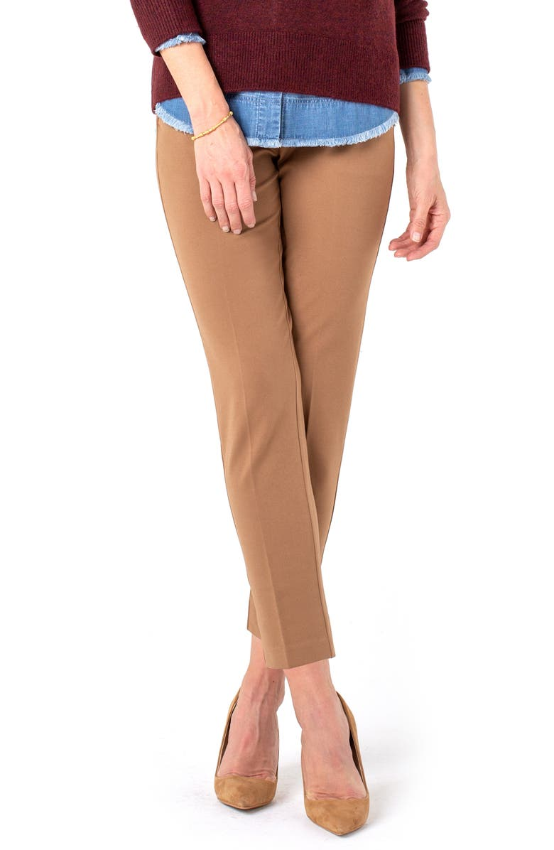 LIVERPOOL Kelsey Knit Trousers, Main, color, NO_COLOR