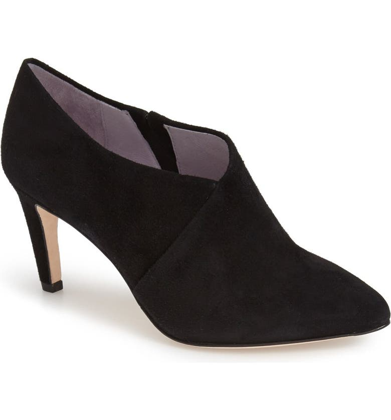 JOHNSTON & MURPHY 'Isabel' Pointy Toe  Bootie, Main, color, 008