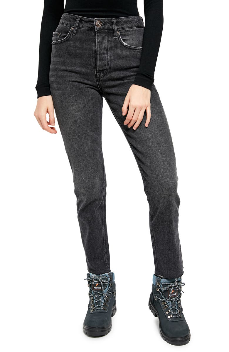 BDG URBAN OUTFITTERS Dillon Ankle Straight Leg Jeans, Main, color, 001