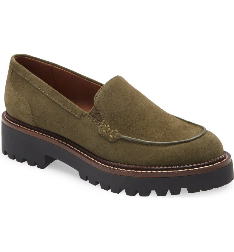 CASLON<SUP>®</SUP> Millany Loafer, Main, color, GREEN OLIVE