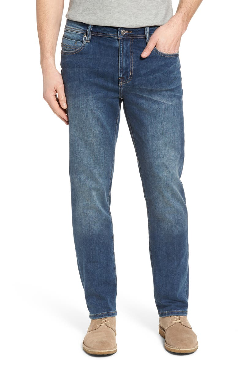 LIVERPOOL Regent Relaxed Straight Leg Jeans, Main, color, 401