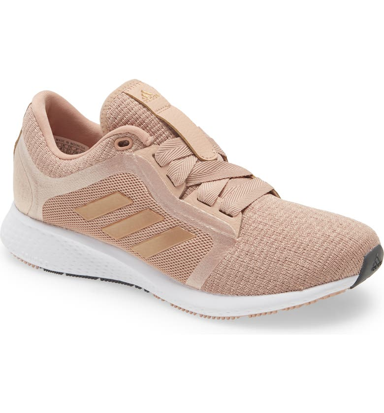 ADIDAS Edge Lux 4 Running Shoe, Main, color, ASH PEARL/ COPPER/ WHITE
