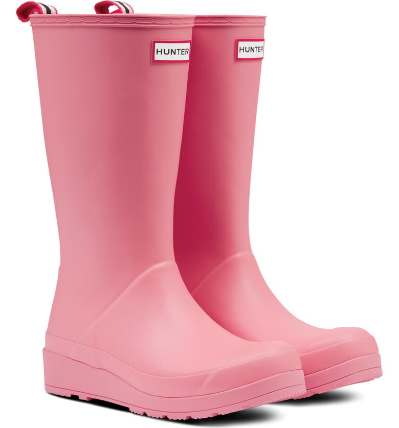 HUNTER Original Play Tall Waterproof Rain Boot, Main, color, HUMMINGBIRD