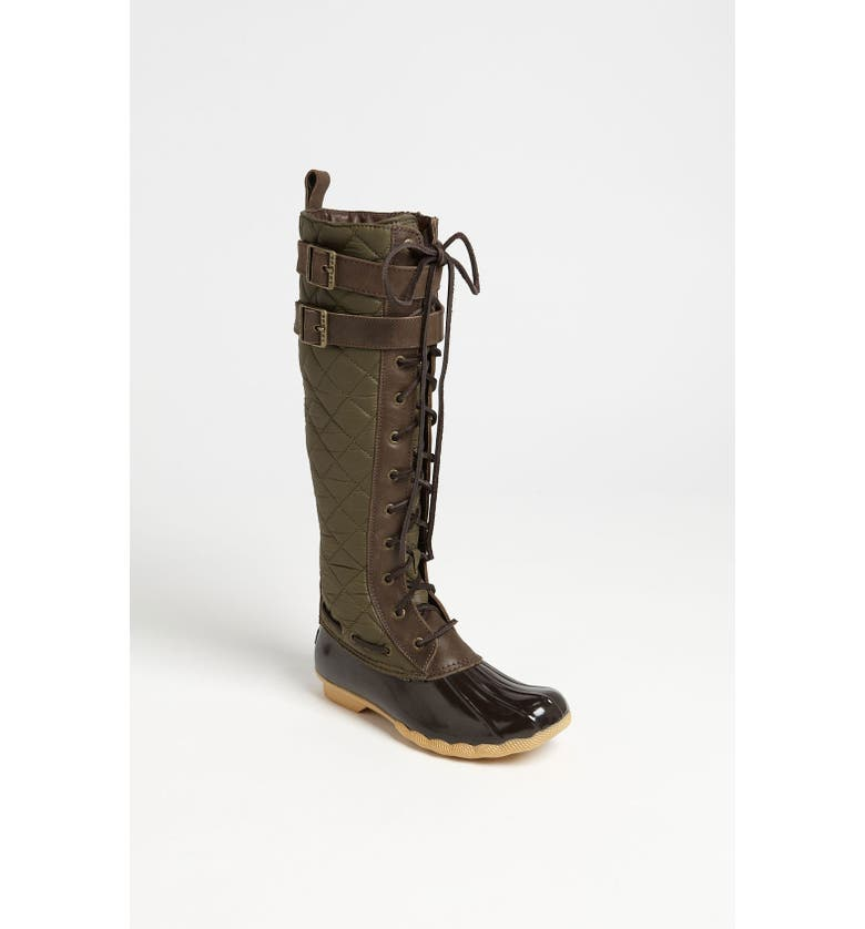 SPERRY Top-Sider<sup>®</sup> 'Albatross' Boot, Main, color, BROWN/ ARMY GREEN