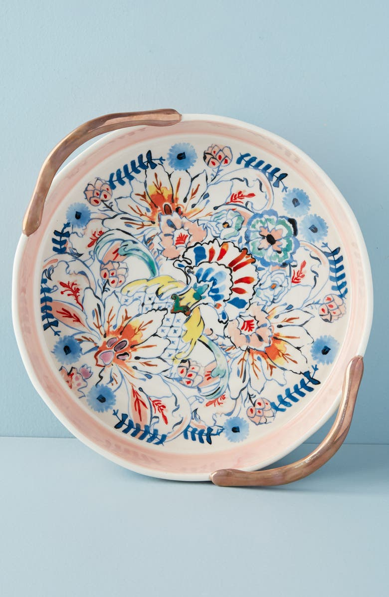 ANTHROPOLOGIE HOME Anthropologie Eres Pie Dish, Main, color, 403