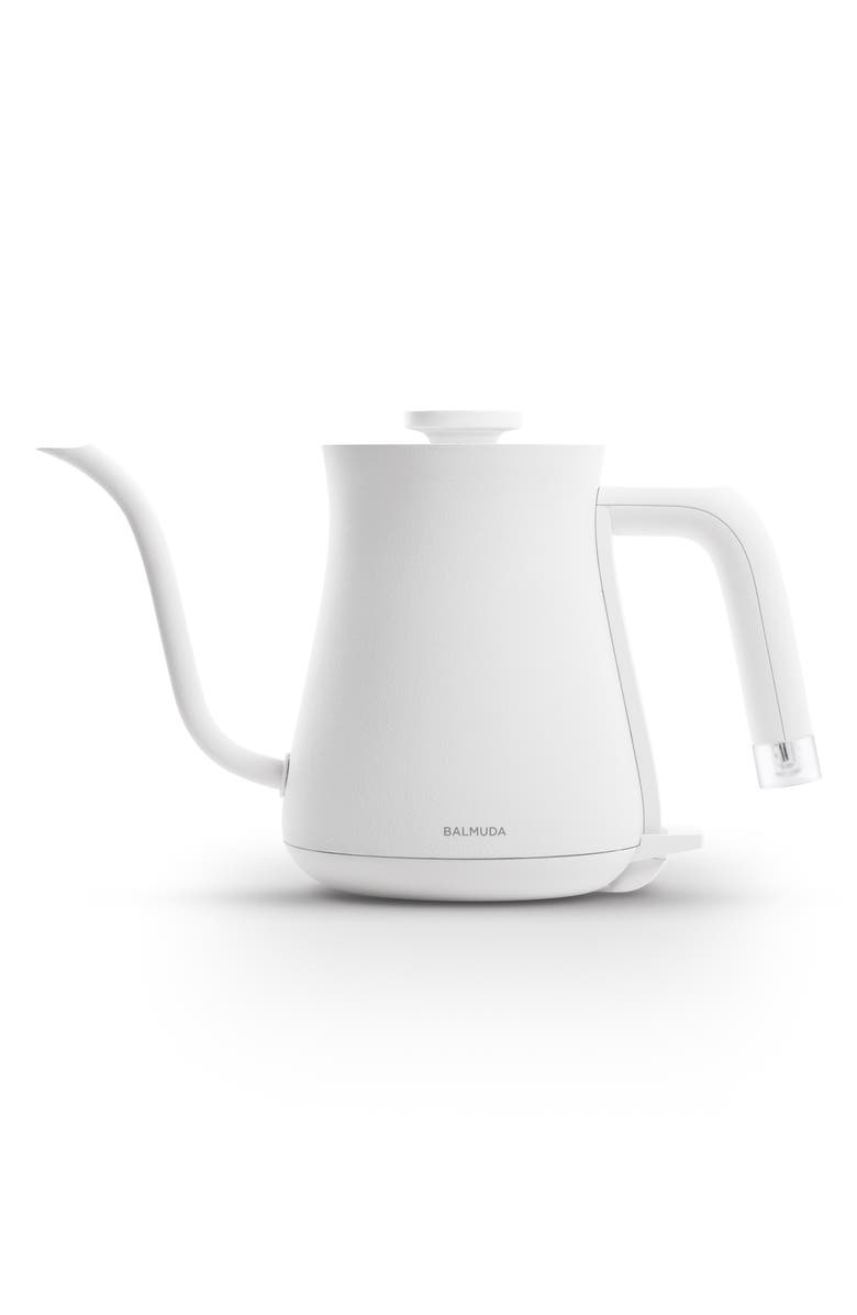 BALMUDA The Kettle Electric Pour Over Kettle, Main, color, WHITE