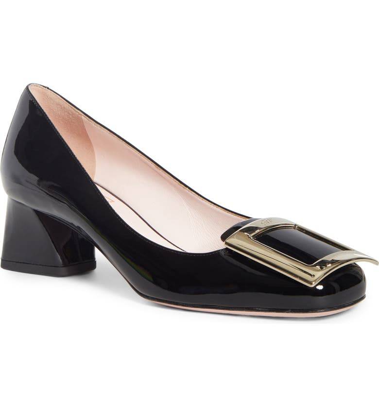 ROGER VIVIER Très Vivier Buckle Pump, Main, color, Black