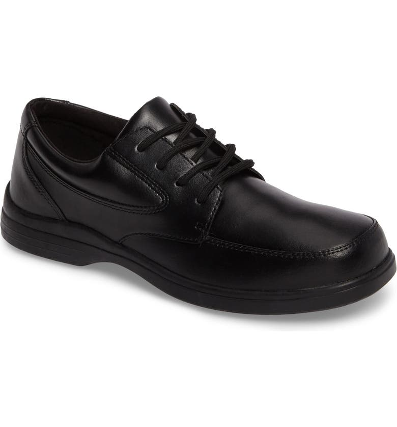 HUSH PUPPIES<SUP>®</SUP> Ty Dress Shoe, Main, color, BLACK LEATHER