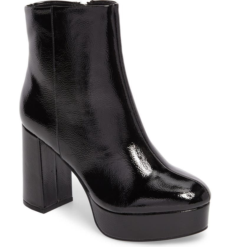 CHINESE LAUNDRY Nenna Platform Bootie, Main, color, BLACK PATENT LEATHER