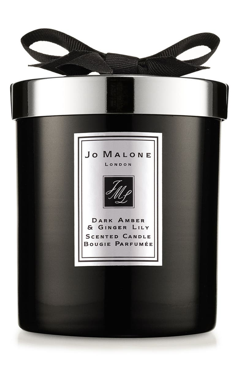 JO MALONE LONDON<SUP>™</SUP> Dark Amber & Ginger Lily Scented Home Candle, Main, color, NO COLOR