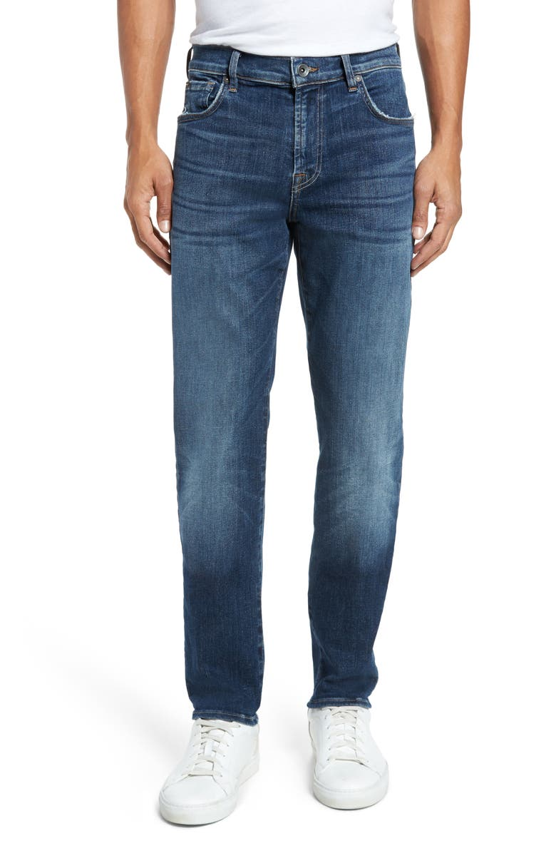 7 FOR ALL MANKIND<SUP>®</SUP> Adrien Slim Fit Jeans, Main, color, 402