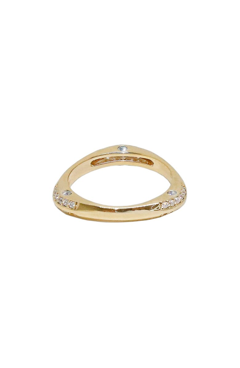 ETTIKA Star Dusted Ring, Main, color, GOLD