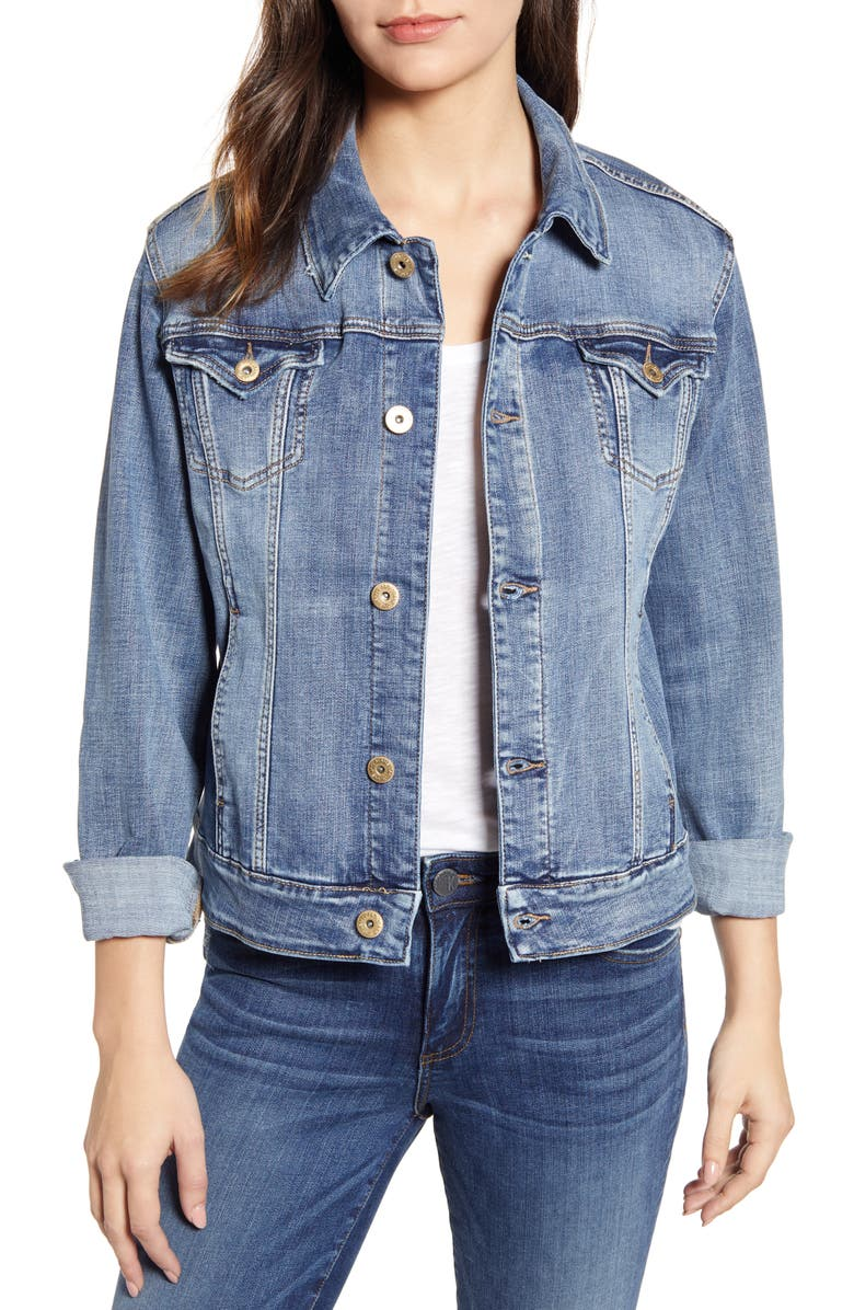 JAG JEANS Rupert Denim Jacket, Main, color, 420