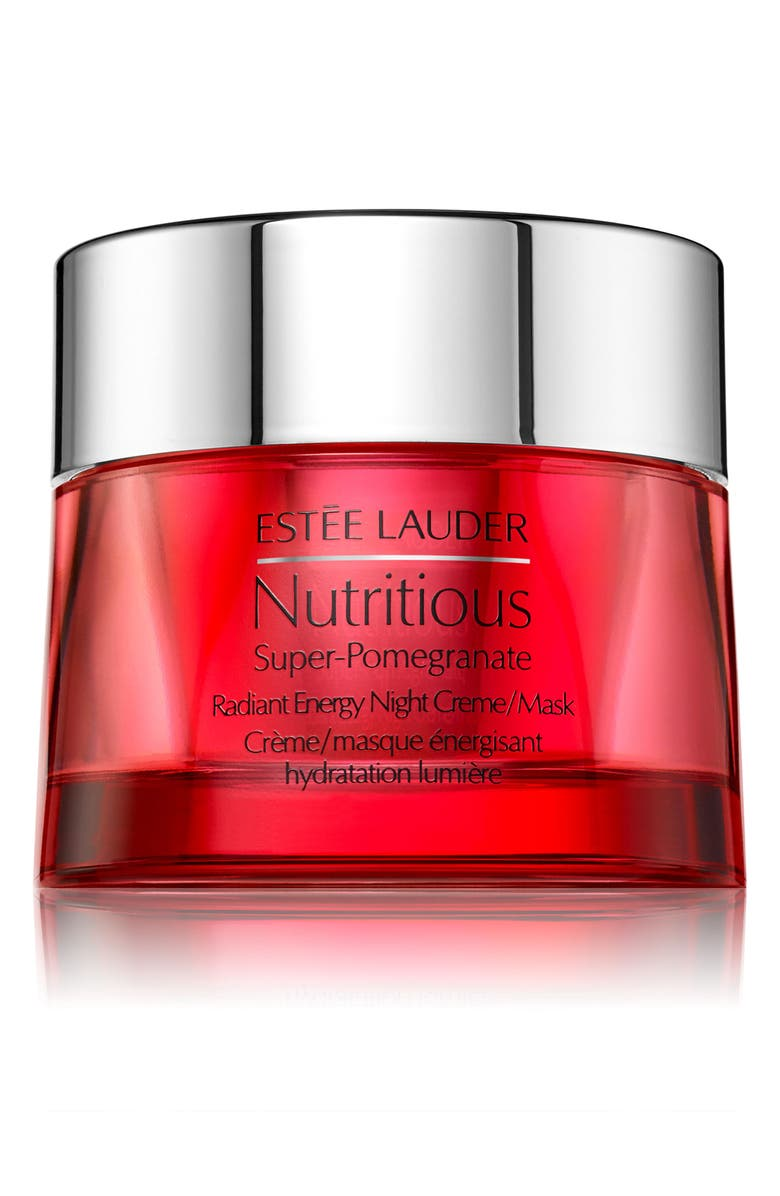 ESTÉE LAUDER Nutritious Super-Pomegranate Radiant Energy Night Crème Mask, Main, color, NO COLOR