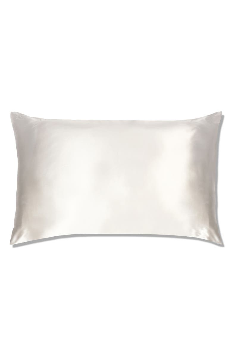 SLIP Pure Silk Pillowcase, Main, color, WHITE