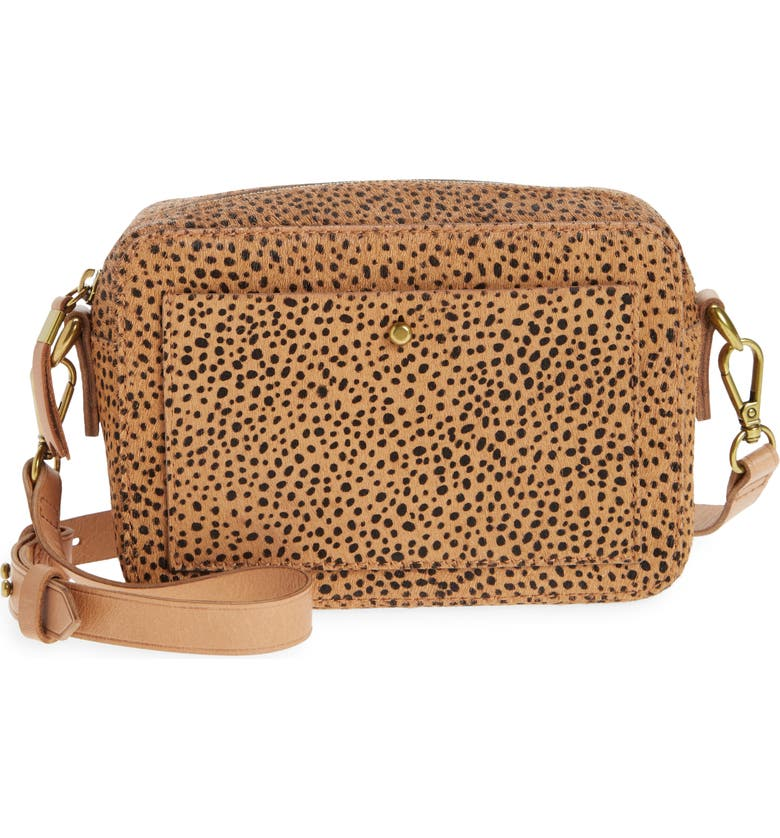 MADEWELL The Transport Camera Bag, Main, color, TIGERS EYE