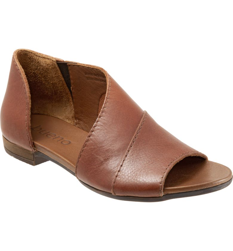 BUENO Tanner Sandal, Main, color, TAN LEATHER