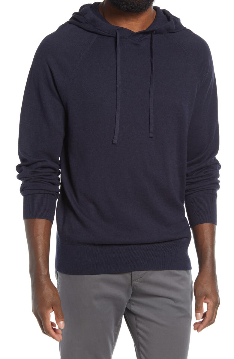 TOMMY JOHN Second Skin Hooded Sweater, Main, color, NIGHT SKY