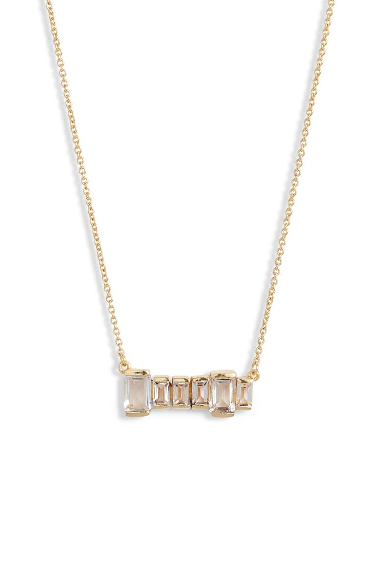 COLLECTIONS BY JOYA Firenze Bar Necklace, Main, color, 100