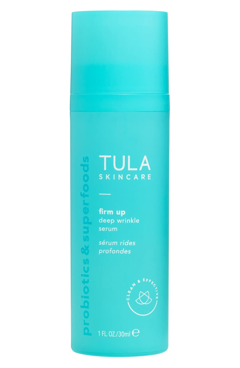 TULA SKINCARE Firm Up Deep Wrinkle Serum, Main, color, No Color