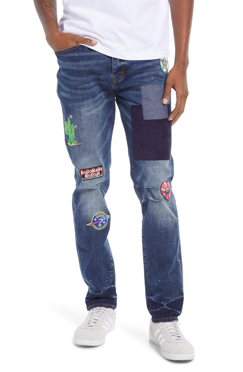 BILLIONAIRE BOYS CLUB BB Hyperion Jeans, Main, color, DARKNESS
