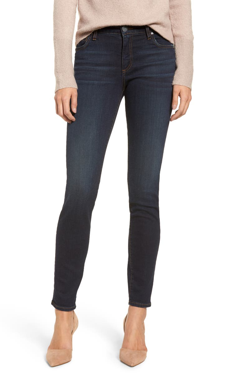 KUT FROM THE KLOTH Diana Skinny Jeans, Main, color, MISCHIEVOUS