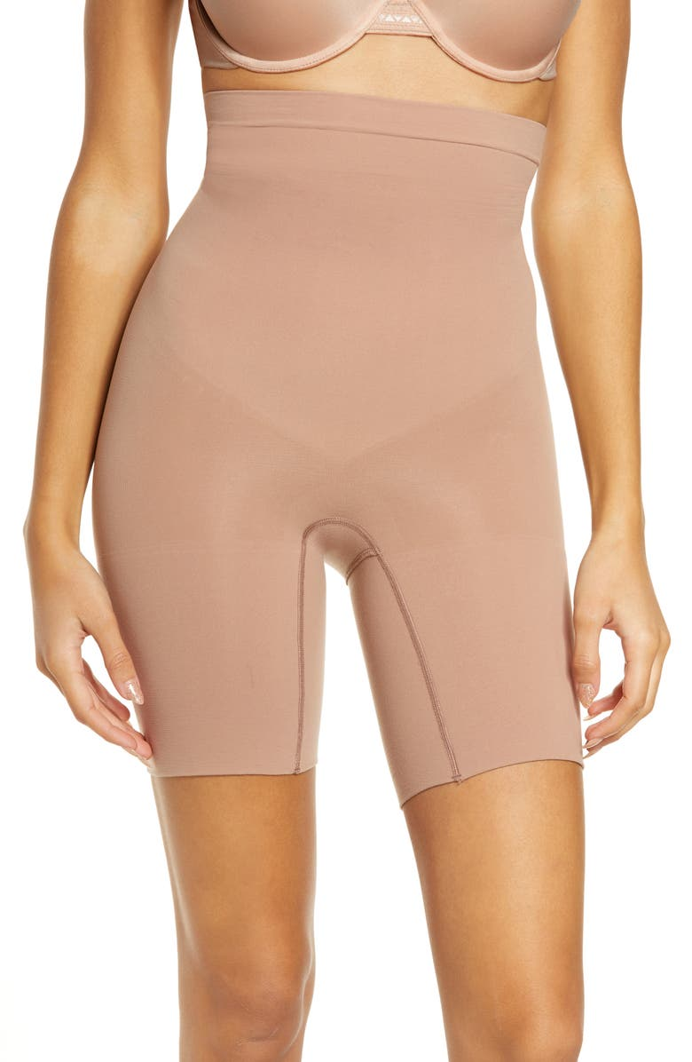 SPANX<SUP>®</SUP> Higher Power Shorts, Main, color, CAFE AU LAIT