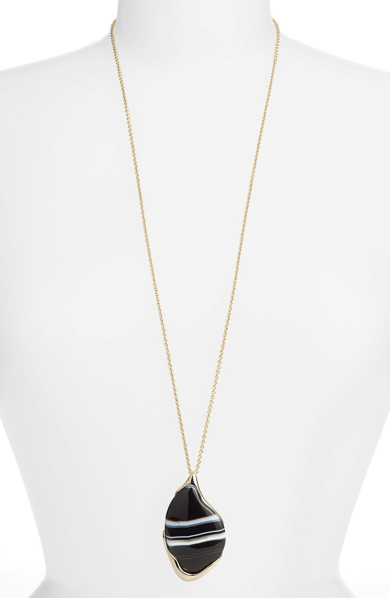 ALEXIS BITTAR 'Miss Havisham - Liquid' Long Pendant Necklace, Main, color, 710