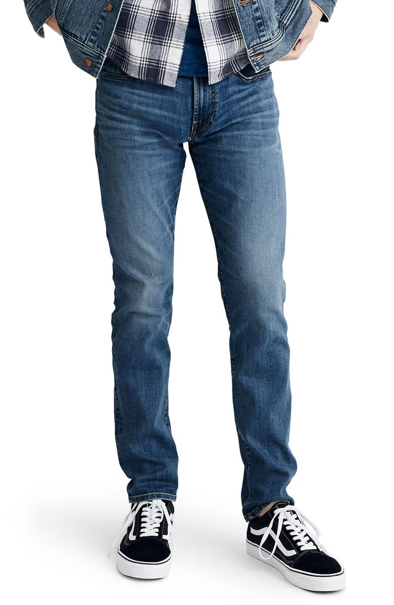 MADEWELL Slim Jeans, Main, color, 400