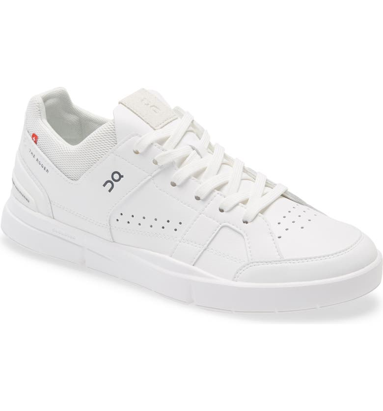 ON THE ROGER Clubhouse Tennis Sneaker, Main, color, WHITE