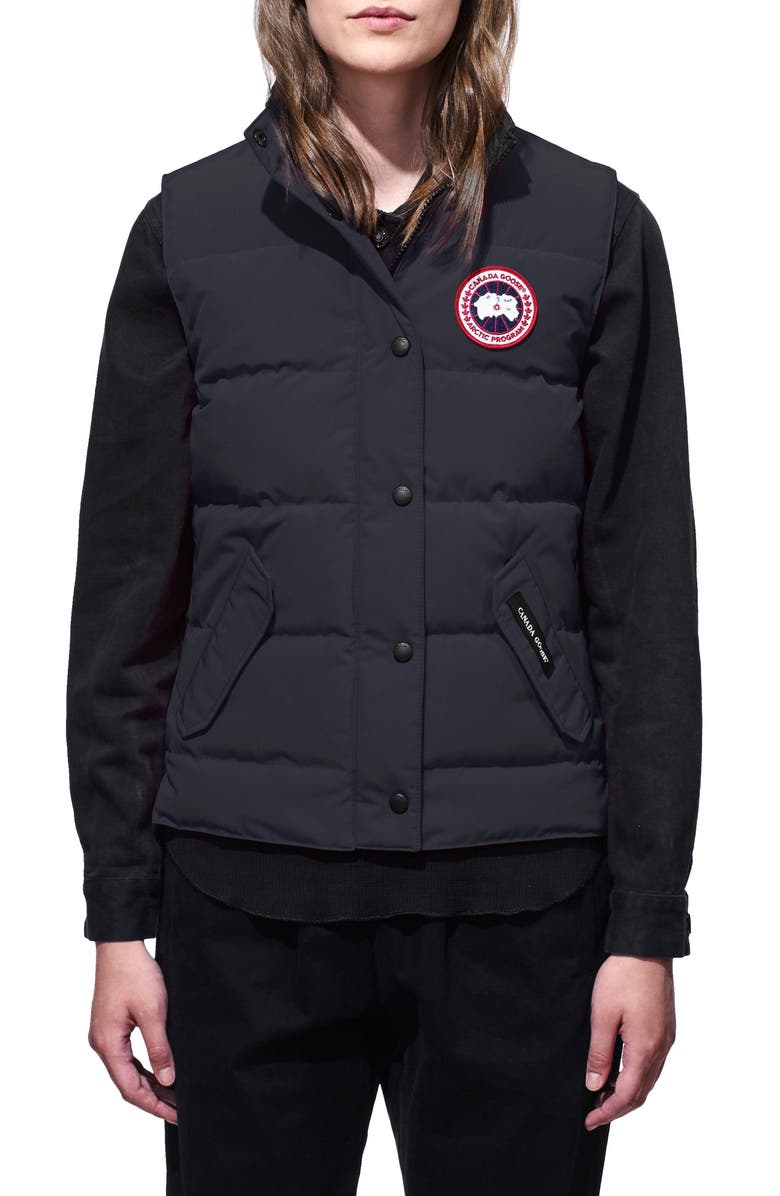 CANADA GOOSE Freestyle Down Vest, Main, color, NAVY
