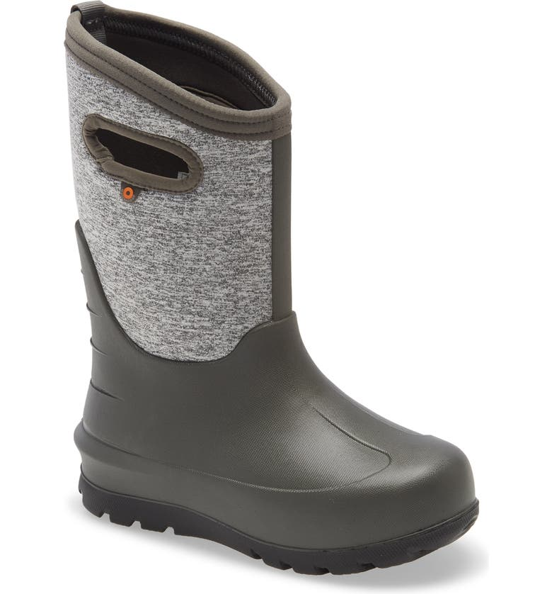 BOGS Neo Classic Insulated Waterproof Boot, Main, color, GARGOYLE