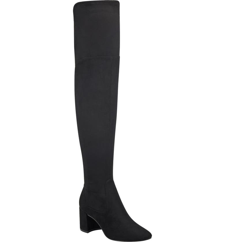MARC FISHER LTD Jayne Over the Knee Boot, Main, color, 001