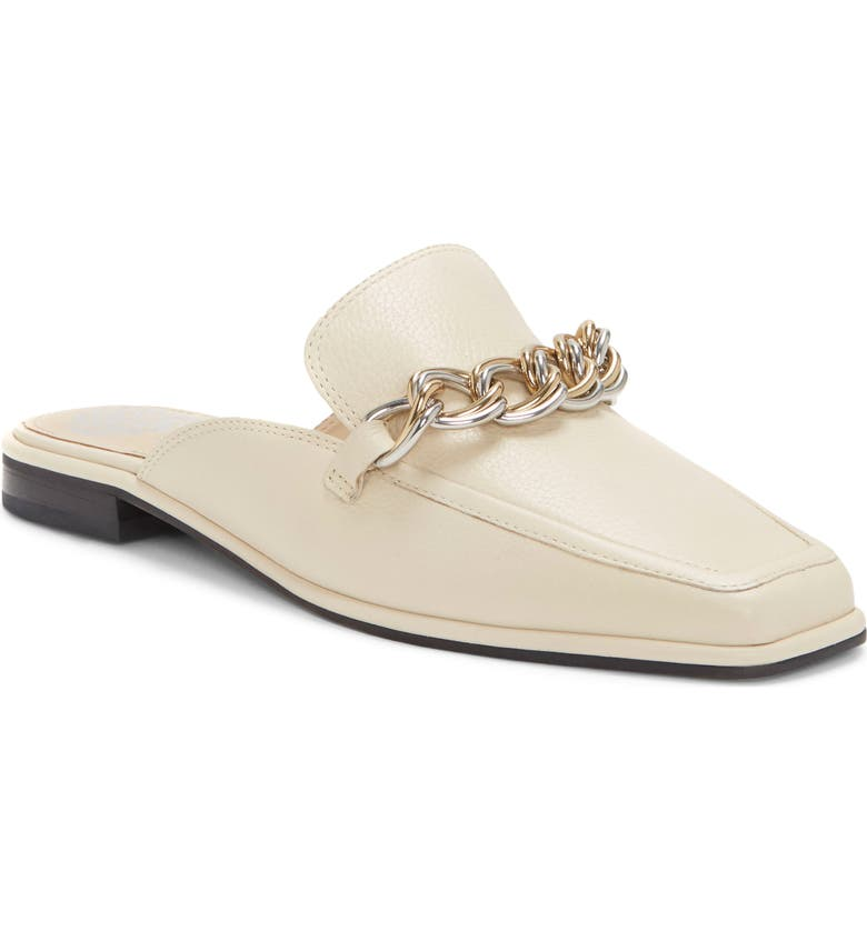 VINCE CAMUTO Rachey Loafer Mule, Main, color, NEW CREAM SOUFFLE LUX
