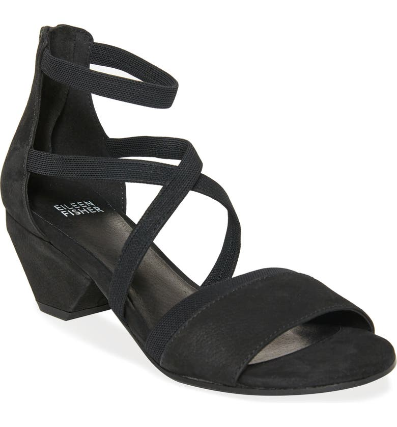 EILEEN FISHER May Sandal, Main, color, 001