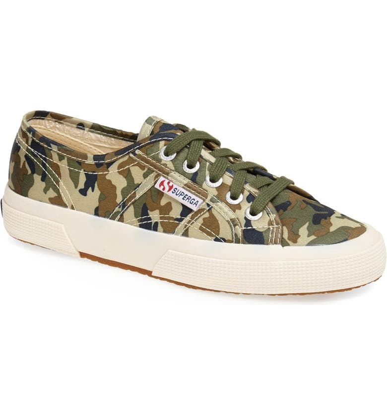 SUPERGA 'Cotu - Camouflage' Sneaker, Main, color, 334