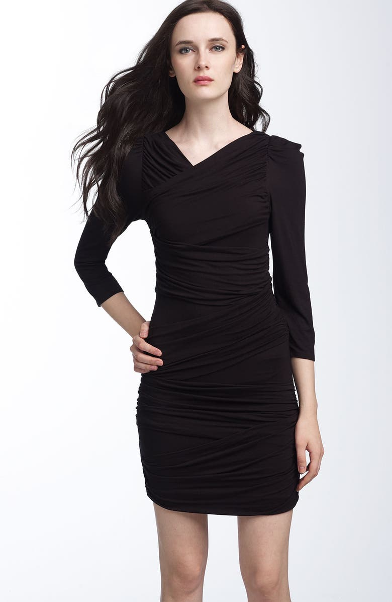LEIFSDOTTIR 'Bandage' Knit Dress, Main, color, 001