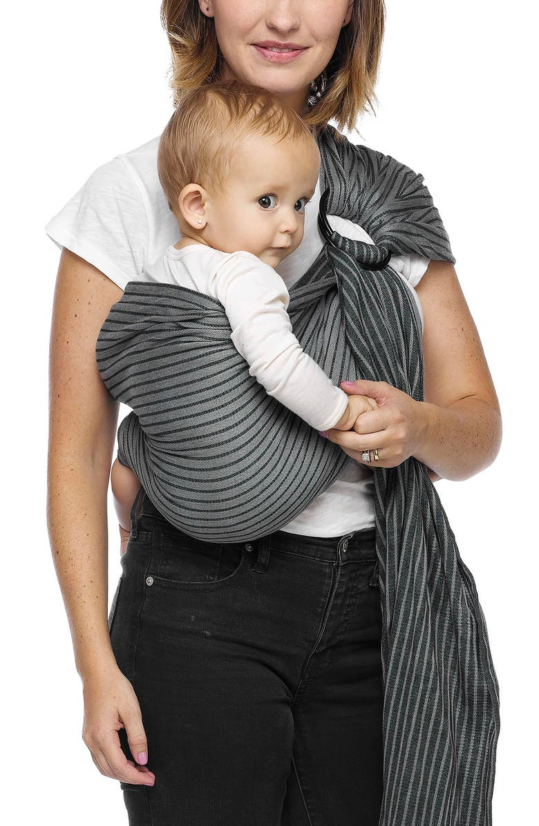 MOBY Baby Sling Carrier, Main, color, JET RIBBONS