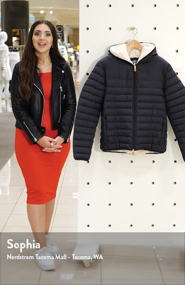 GIGA Waterproof Faux Shearling Lined Puffer Jacket, sales video thumbnail