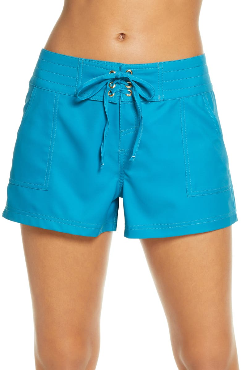 LA BLANCA 'Boardwalk' Shorts, Main, color, 440