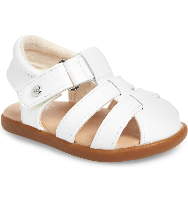 UGG<SUP>®</SUP> Kolding Fisherman Sandal, Main, color, WHITE
