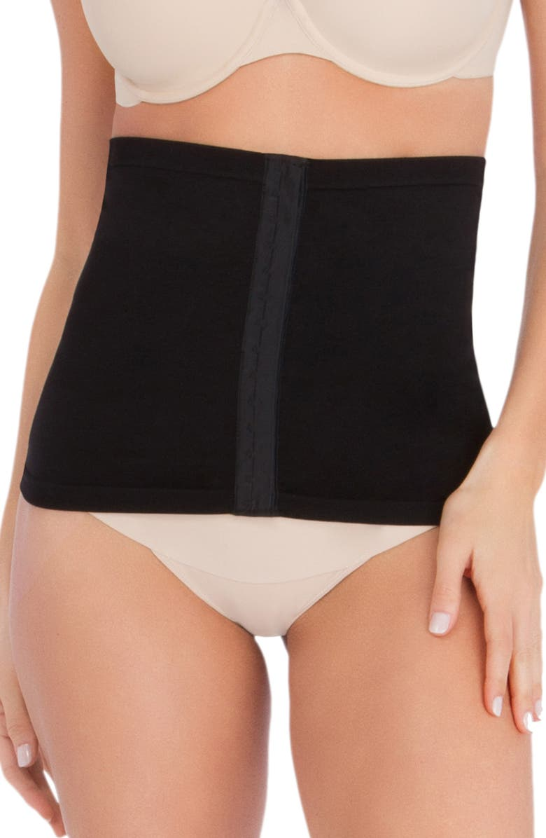 BELLY BANDIT<SUP>®</SUP> Post Pregnancy Protective Belly Shield, Main, color, BLACK