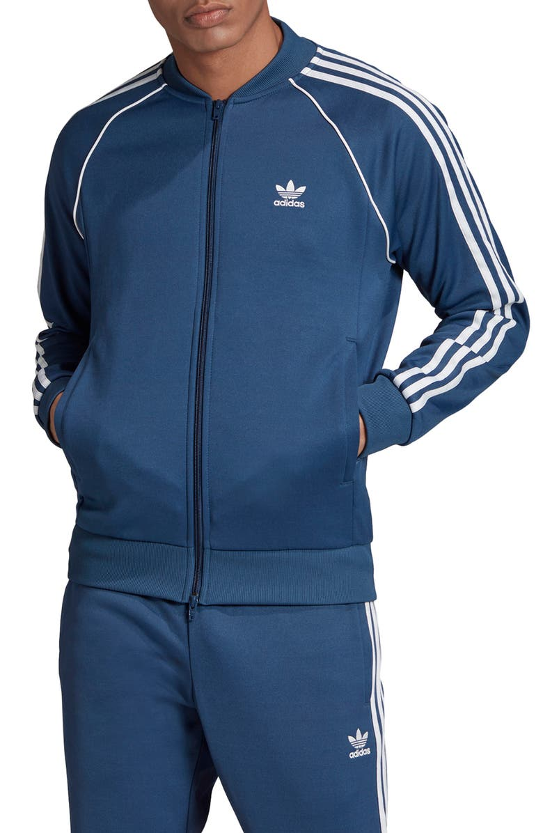ADIDAS Originals Superstar Track Jacket, Main, color, 400