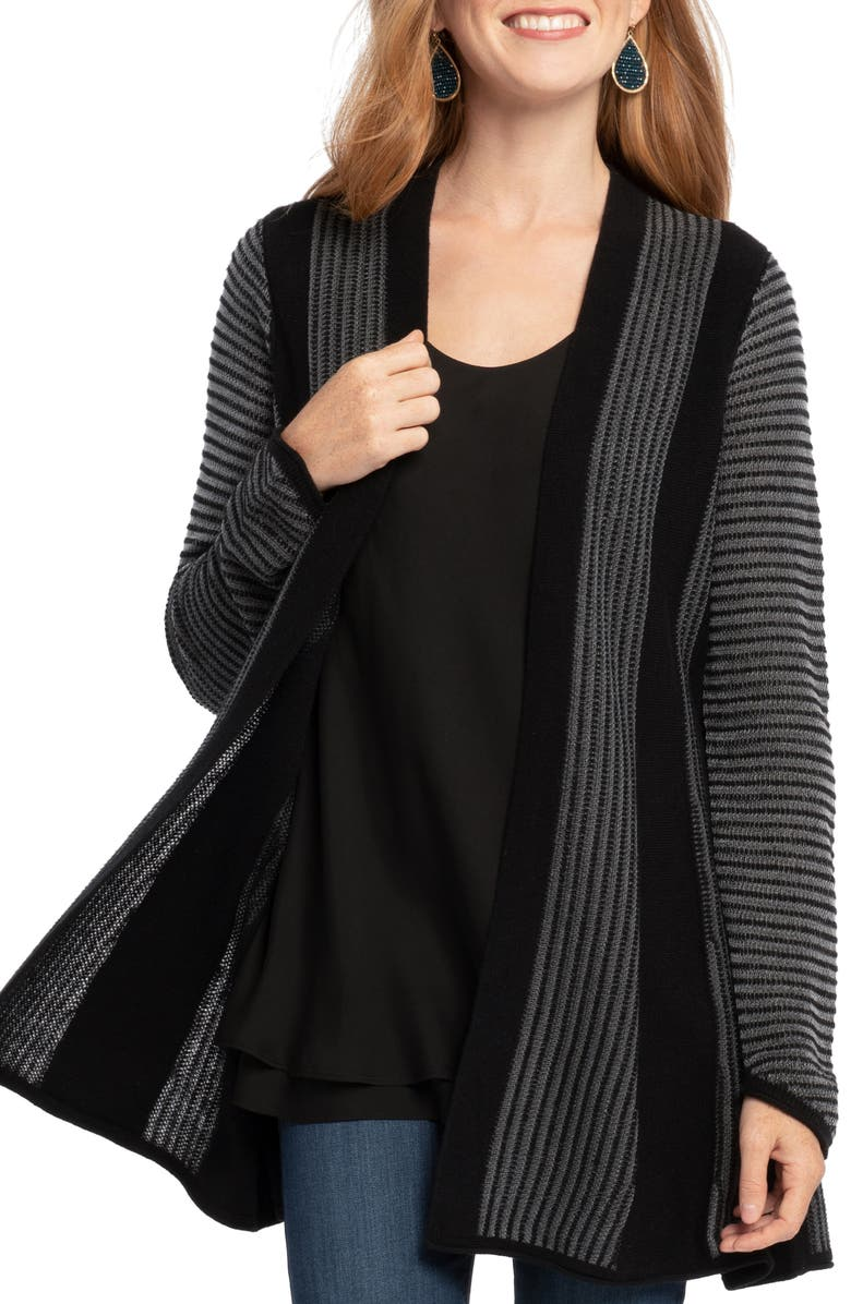 NIC+ZOE Warm Up Cardigan, Main, color, 004