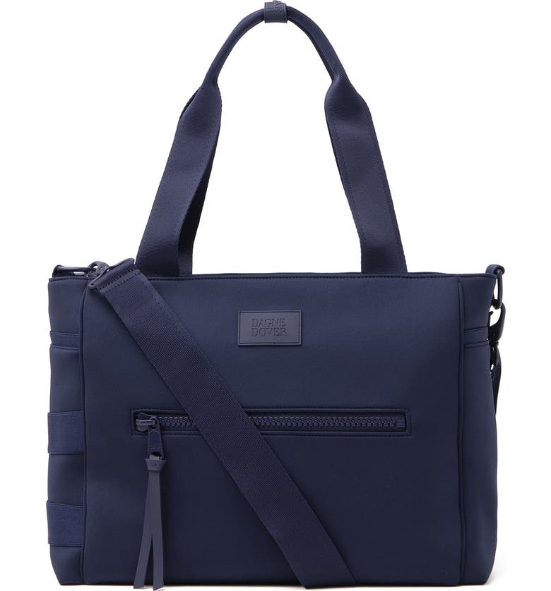DAGNE DOVER Large Wade Diaper Tote, Main, color, STORM