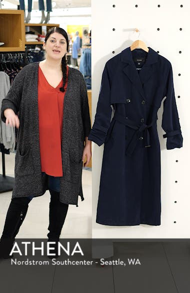 Valentine Long Trench Coat, sales video thumbnail