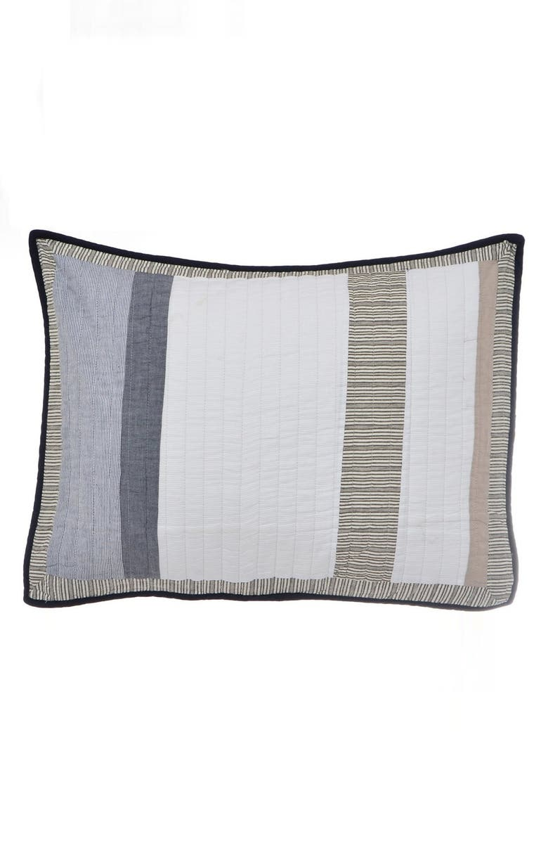 NAUTICA 'Tideway' Quilted Standard Sham, Main, color, 020
