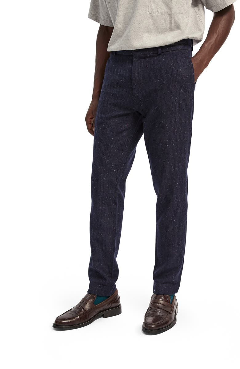 SCOTCH & SODA Stuart Slim Fit Chinos, Main, color, NAVY
