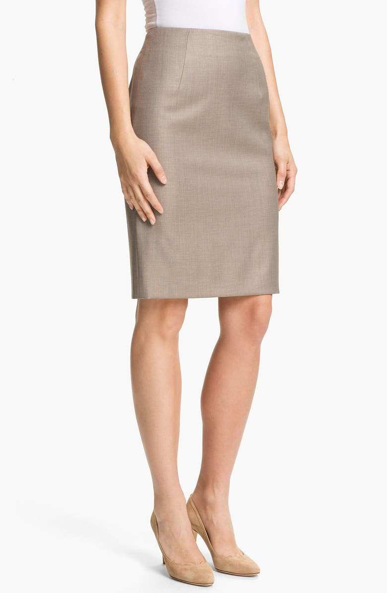 BOSS HUGO BOSS 'Vilina2' Skirt, Main, color, 293